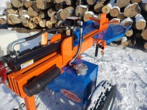 Eastonmade Ultra Wood Splitter Powerful Hydraulic Ram