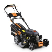 Feider T5175ES 4-in-1 Self-Propelled Petrol Lawnmower with...