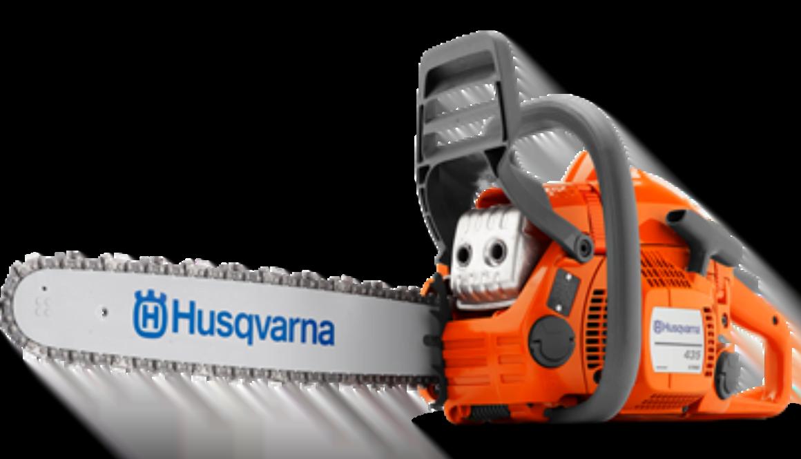 Husqvarna 435 petrol chainsaw