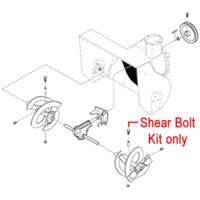 Stiga 1812-9006-01 Shear Bolt Kit for the Stiga Snow Flake