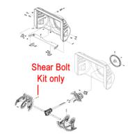 Stiga 1812-9029-01 Shear Bolt Kit for the Stiga Snow Fox, Snow 1171 and Snow 1381