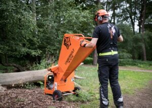 Timberwolf 13-75G Chipper Easy To Manoeuvre