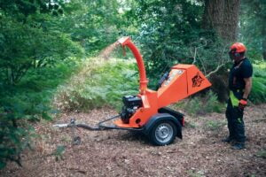 Timberwolf 18-100G ES Chipper Gravity Fed