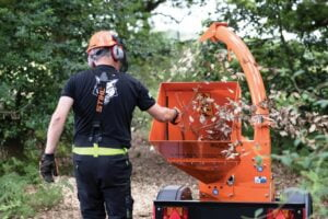 Timberwolf 18-100G ES Chipper Safe To Operate