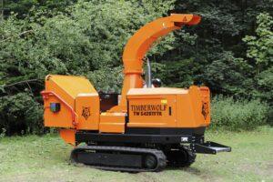 Timberwolf S426TFTR Tracked Shredder Rubber Tracks