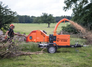 Timberwolf TW 230DHB Chipper Chipping