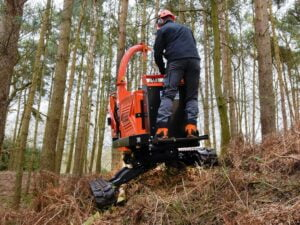 Timberwolf TW 280TVGTR Chipper 30° Tilt