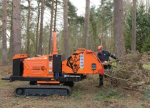 Timberwolf TW 280TVGTR Chipper Large Feed Area