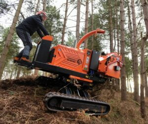 Timberwolf TW 280TVGTR Chipper Sloping Terrain