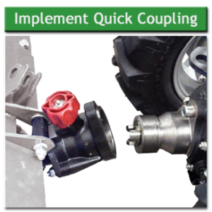 BCS 750 Implement Quick Coupling