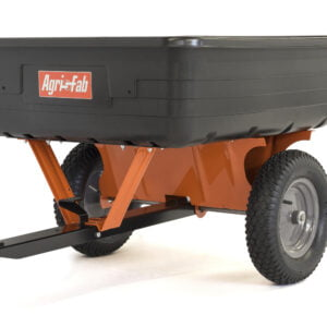 Agri-Fab 10 ft Towed Poly Body Cart Trailer