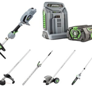 Ego MHSC2002E Multi-Tool Set (5Ah Battery + Rapid Charger)