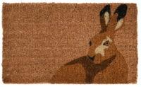 Fallen Fruits Coir Doormat (Hare)