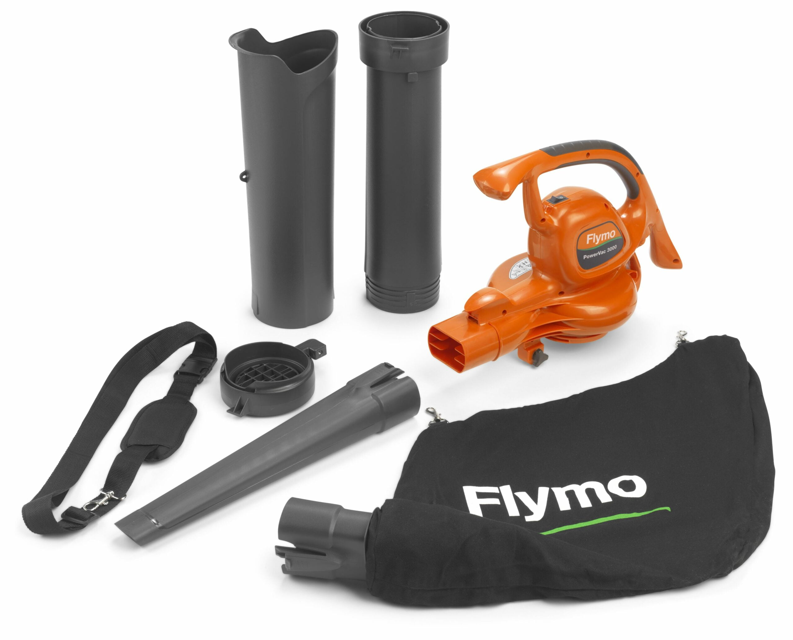 Flymo Powervac 3000 Electric Garden Blower & Vacuum