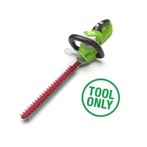 Greenworks G24HT Deluxe 24V Cordless Hedge Trimmer (Tool Only)