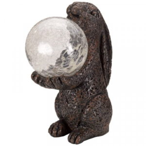 Smart Solar Hare Magic Figurine