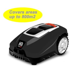 Mowbot 800 28v 2.5Ah Robotic Lawnmower Black