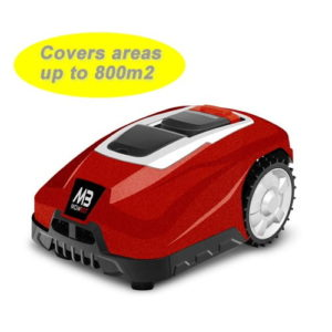 Mowbot 800 28v 2.5Ah Robotic Lawnmower Metallic Red