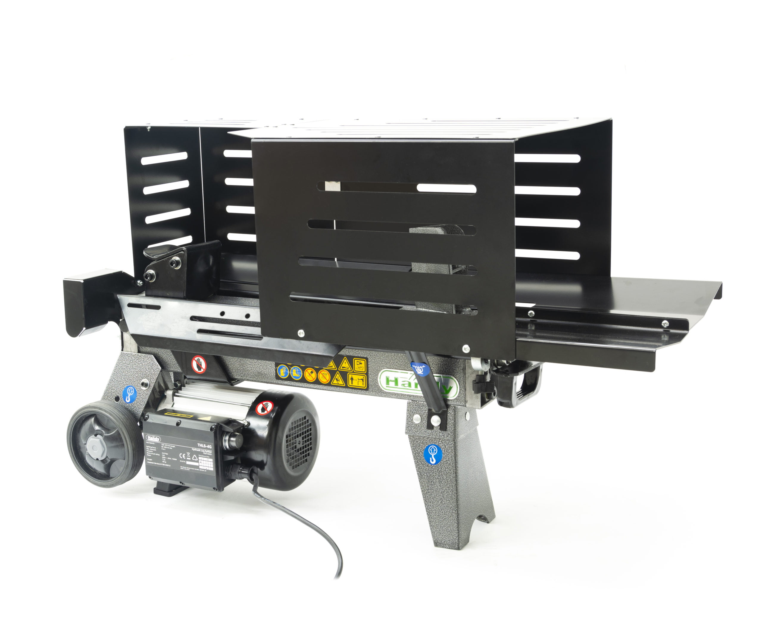 The Handy 4 Ton Horizontal Log Splitter With Guard