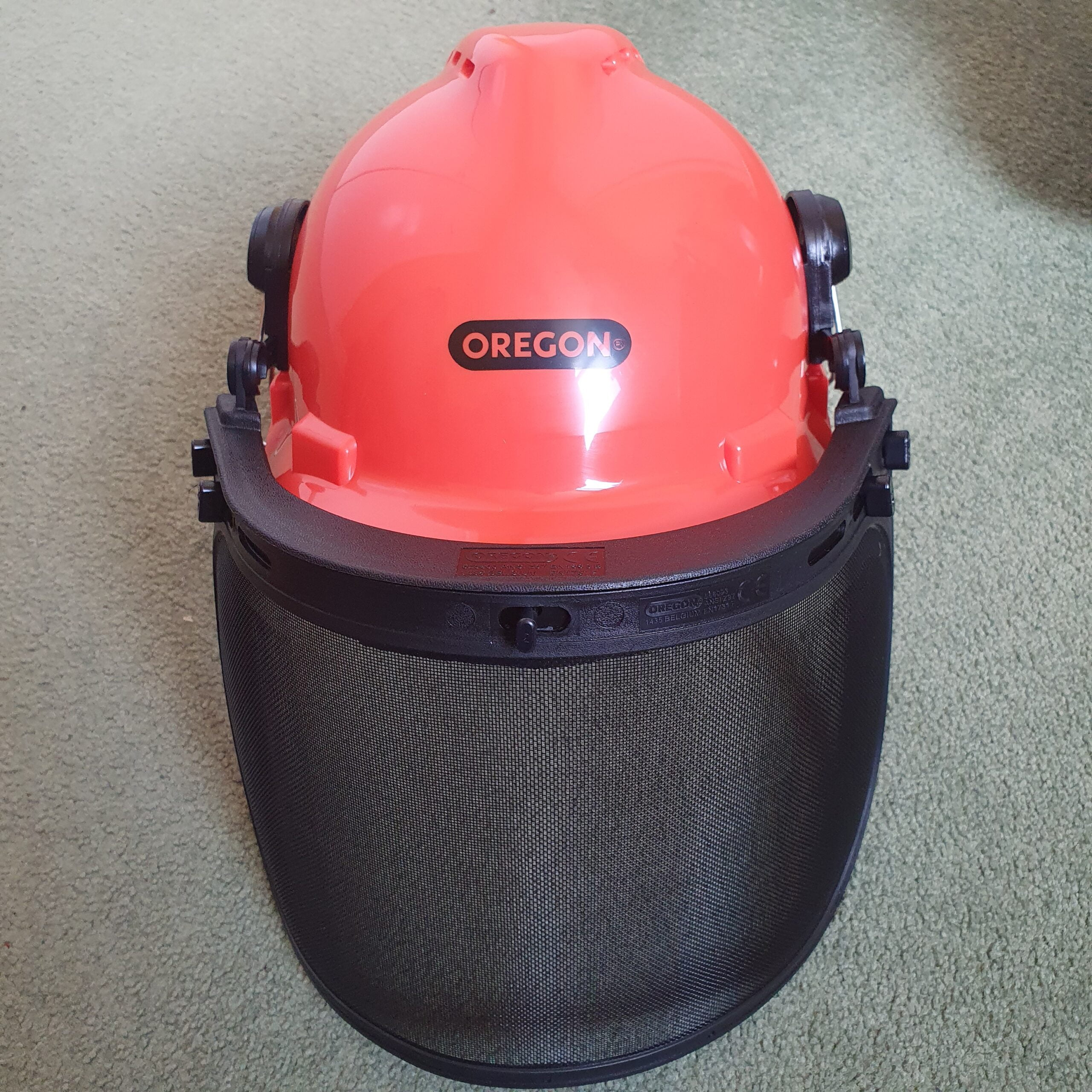 Oregon Chainsaw Helmet Front View