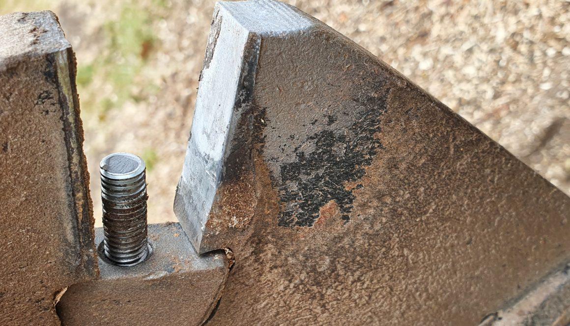 Sheared Bolt Multi-Tip Stump Grinder Wheel