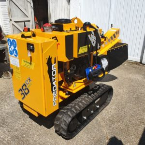 Review Of Predator 38 RX EFI Radio Remote Stump Grinder