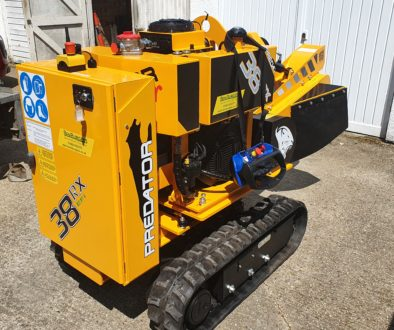 Review Of Predator 38 RX EFI Radio Remote Stump Grinder