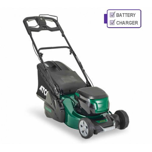 ATCO Liner 18S Li 80v Cordless Self-Propelled Rear Roller Mower with 5Ah Battery