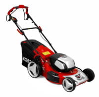 """Cobra MX51S80V 21"""" Lithium-Ion Cordless Lawnmower with Twin 40v Batteries"""