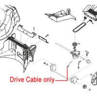AL-KO 523VS Clutch Drive Cable 454773