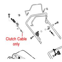 AL-KO Clutch Drive Cable 46BR AK549708
