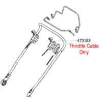 AL-KO Replacement Throttle Cable (AK470153)
