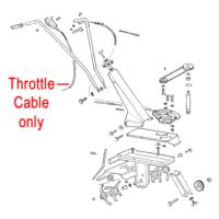 AL-KO Throttle Cable P109260050220