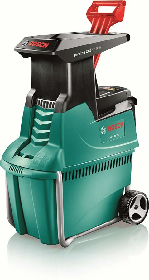 Bosch AXT 25TC 2500w Electric Quiet Garden Shredder