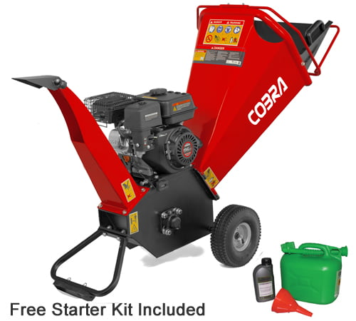 Cobra CHIP650L Recoil Start Petrol Chipper / Shredder