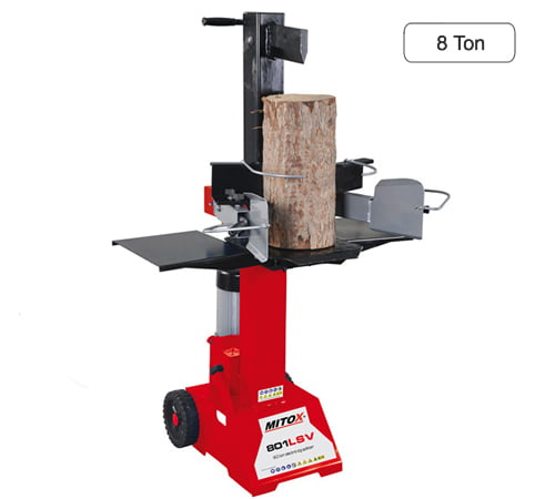 Mitox 801 LSV Vertical 8 Tonne Electric Log Splitter