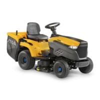 Stiga e-Ride C300 Battery Collecting Lawn Tractors c/w 84cm (33'')...