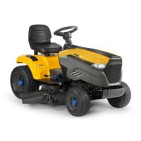 Stiga e-Ride S500 Battery Side Discharge Lawn Tractors c/w 98cm...