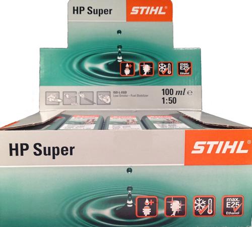 10x Stihl HP Super 2 Stroke Oil One Shot Bottles 0781 319 8052