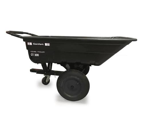 AL-KO CT300 Comfort Tow & Push Tipping Garden Trailer