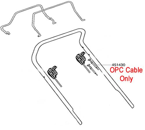 AL-KO Lawnmower OPC Cable 451430