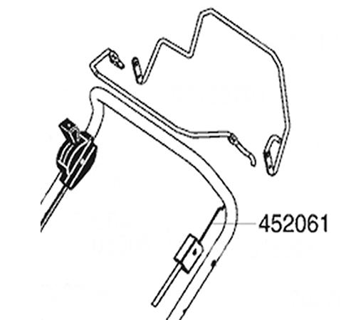 AL-KO Lawnmower OPC Cable 452061