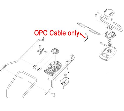 AL-KO Lawnmower OPC Cable 460904