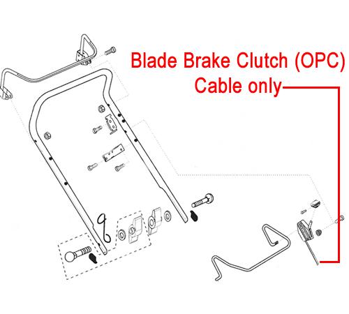 AL-KO Lawnmower OPC Cable (544239