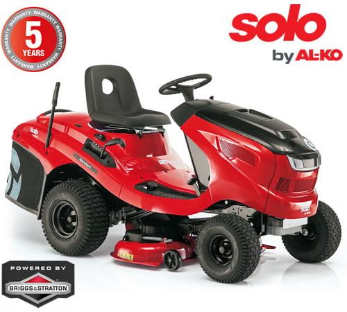 AL-KO Solo T16-93.7 HD-V2 Comfort Vacuum Rear Collect Lawn Tractor