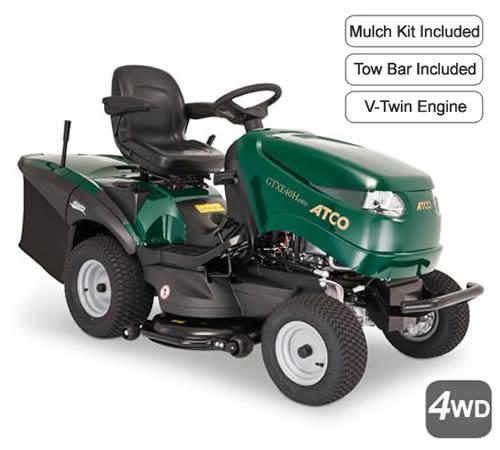 ATCO GTXE40H Twin 4WD Garden Tractor