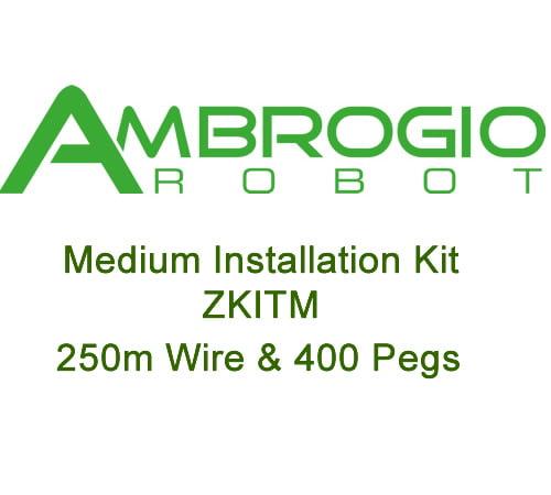 Ambrogio Medium Installation Kit (250m wire and 400 Pegs)