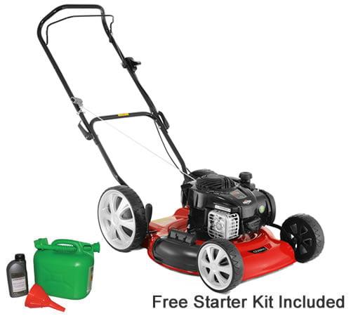 Cobra MM51B 51cm Push Petrol Mulching Lawn mower