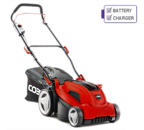 Cobra MX4340V Cordless 40v Lawnmower with Battery & Charger
