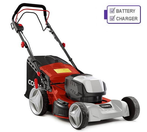 Cobra MX460S40V Self-Propelled 40v Cordless Lawnmower c/w Battery and Charger